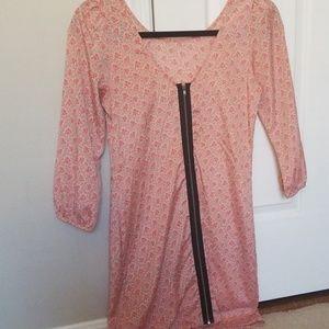 My Story Dresses - Spring zip back dress